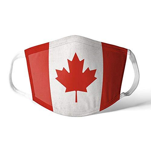 M&schutz Maske Stoffmaske Mittel Notleidende Flagge Kanada/Kanadier Wiederverwendbar Waschbar Weiches Baumwollgefühl Polyester Fabrik