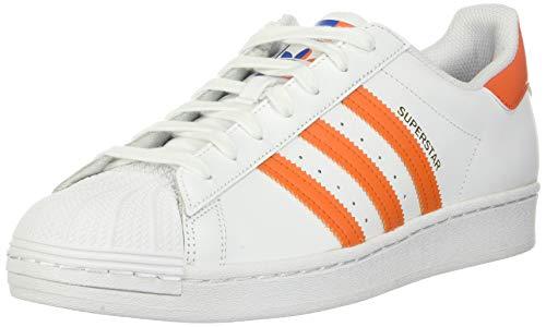 Zapatillas Adidas Originals Superstar para Adultos Unisex, Color Blanco, Talla 39 1/3 EU