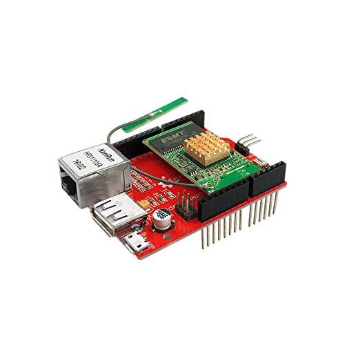 Modulo elettronico Espansione RT5350 Modulo OpenWRT Router Wi-Fi Radiocomunicazioni Video Shield Consiglio for A-r-d-u-i-n-o