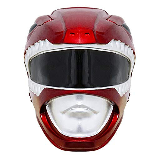 Power Rangers Men's Red Ranger Adult PVC Helmet