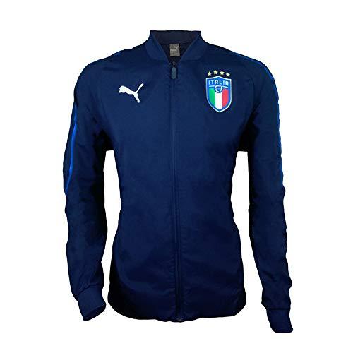 Puma FIGC Italia Woven Jacket, Herren, blau-blau, M