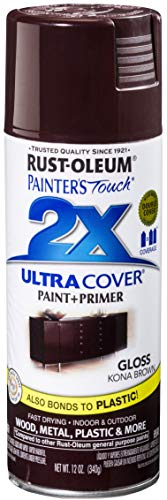 Rust-Oleum 249102 Painter's Touch Multi Purpose Spray Paint, 12-Ounce, Kona Brown - 6 Pack