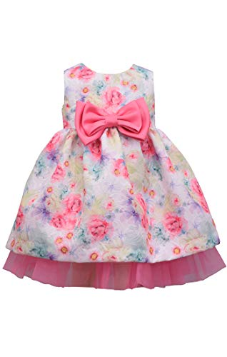 Bonnie Jean Easter Dress Spring Dress for Baby Toddler and Little Girls (12 Months)