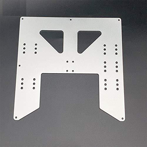 XBaofu Placa 1pc Y Carro de Aluminio anodizado for A8 semillero Soporte for Prusa I3 Anet A8 impresoras 3D