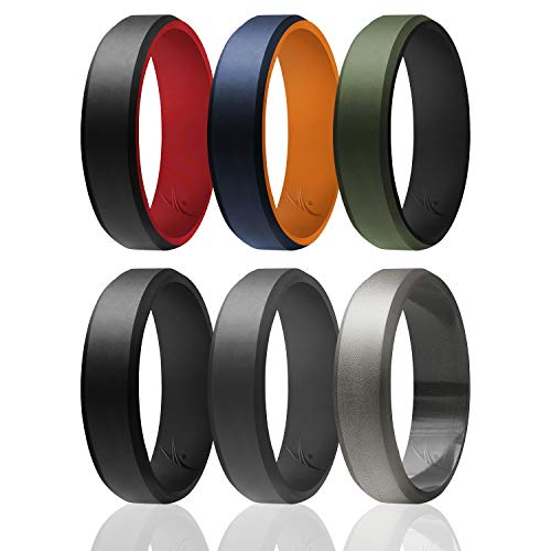 Silicone Wedding Rings for Women by ROQ