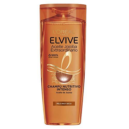 L'Oréal Paris Elvive Huile Extraordinaire Shampooing Nutritif pour Cheveux Très Secs 370 ml