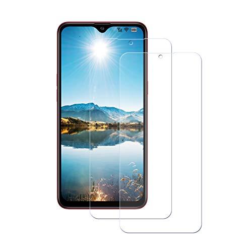 LPCJ [2Piezas, Samsung Galaxy A30S Protector de Pantalla, Cristal Templado para Samsung Galaxy A30S Resistente a Golpes y Rayado, Vidrio Templado Samsung Galaxy A30S