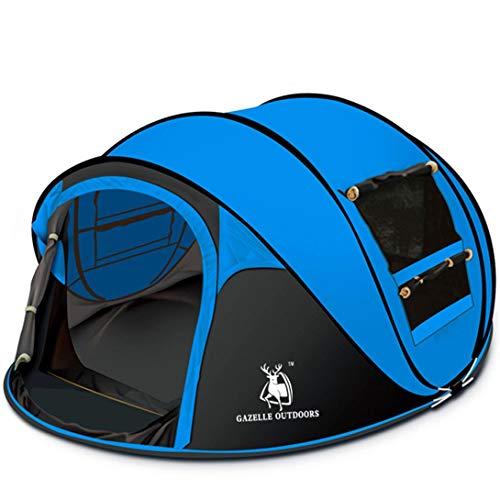 Swiftswan 3/4 Personen schnell automatisch öffnen schnell aufklappbar Zelt wasserdichte Markise Markise Outdoor Wandern Camping Picknick Strand