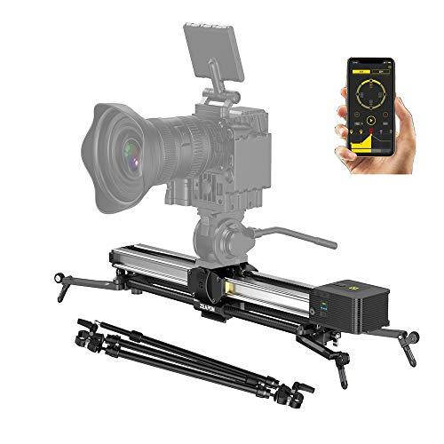 Zeapon Micro 2 - Deslizador para cámara (motorizado, doble distancia) Payload 8 kg/18 lbs,APP Supported Android & iOS