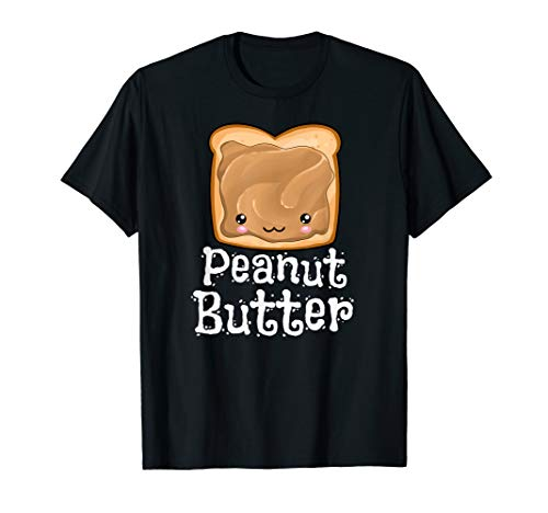 Kawaii Peanut Butter Jelly PB&J Halloween Matching Twins T-Shirt