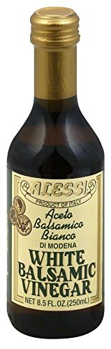 Alessi - White Balsamic Vinegar, 8.5 oz Pack of 2