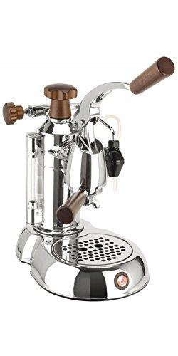 la Pavoni Stradivari STH Independiente Máquina espresso Cromo 0,8 L 8 tazas Semi-automática - Cafetera (Independiente, Máquina espresso, 0,8 L, De café molido, 1000 W, Cromo)