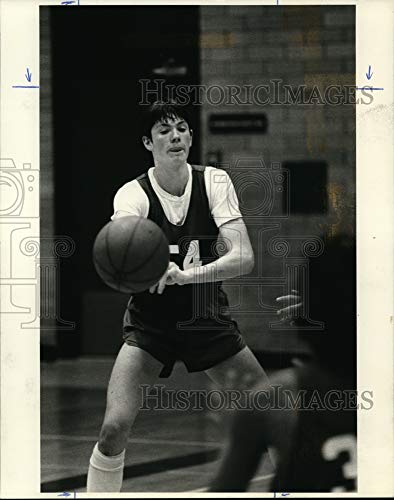Historic Images – 1985 Foto de Prensa Duke Wallenborn Durante la práctica para el Juego de Viernes por…