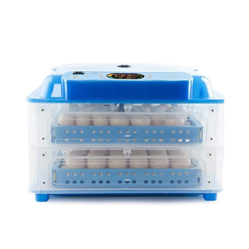 ZNND incubadoras Incubadora Huevos Gallina con Pantalla Y Luz LED Digital Inversión Automática Y Control Eficiente Inteligente Temperatura Y Humedad Pollos Patos Gansos En Casa