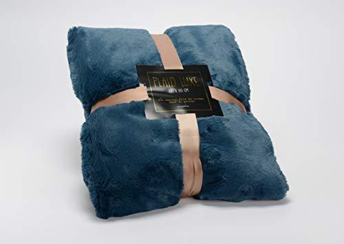 Amadeus - Plaid Bleu Nuit 130x170 Multicolore 144213 Taille Unique