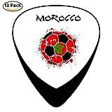 La guitare celluloïd du football du Maroc choisit pour la guitare acoustique électrique