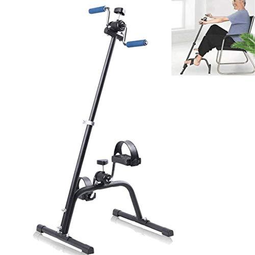 ZGHOME Pedal Plegable Ejercitador Bicicleta Estática para La Pierna Y El Brazo Rehab Trabajo Ajustable Aparatos De Ejercicios De Rehabilitación para La Tercera Edad, Paciente
