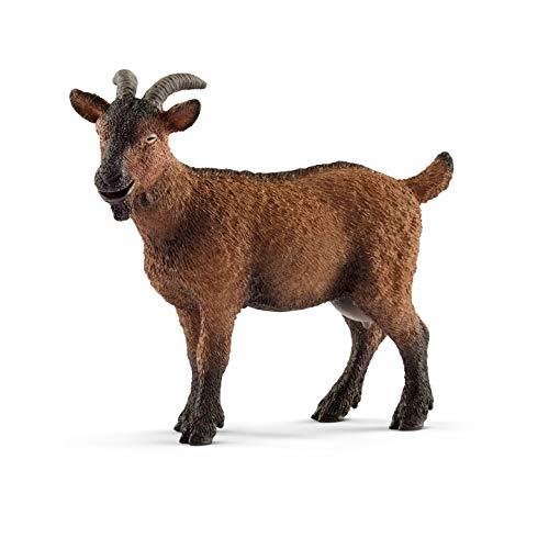 SCHLEICH Farm World  Animal Figurine  Farm Toys for Boys and Girls 3-8 Years Old  Goat