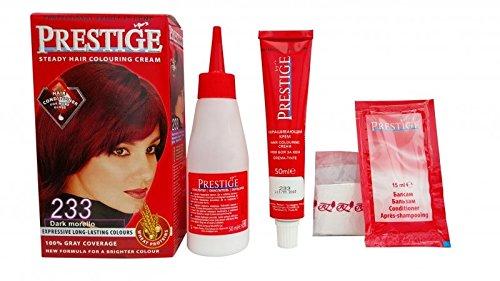 Pack économique de 2 teintures en crèmes colorantes pour les cheveux, couleur corde foncée 233