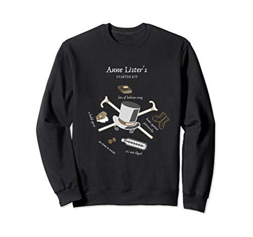 Anne Lister Sweatshirt Starter Kit Lesbian Diaries Gift Fan