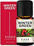 Kukka Wintergreen Essential Oil for Pain Relief - Natural Wintergreen Oil for Breathing - 100 Pure Therapeutic Grade Essential Oils Aromatherapy Oils for Diffuser - 10ml