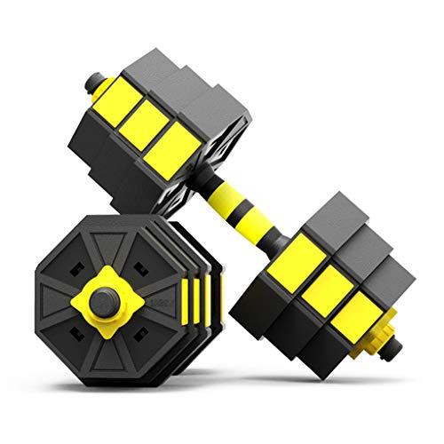 Dumbbells Manubri ottagonali Manubri da Fitness per Uomo Manubri Rimovibili con Peso Regolabile Bilanciere Sicuro Non rotolante