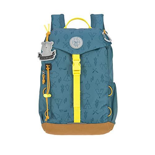 LÄSSIG Kinder Wanderrucksack Kinderrucksack Ausflug ab 3 Jahre /Outdoor Backpack Adventure Blau, 9 L