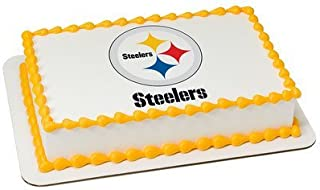 Pittsburgh Steelers Licensed Edible Cake Topper #4581