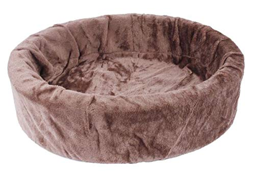 Petcomfort hondenmand bont choco bruin 74X65X20 CM