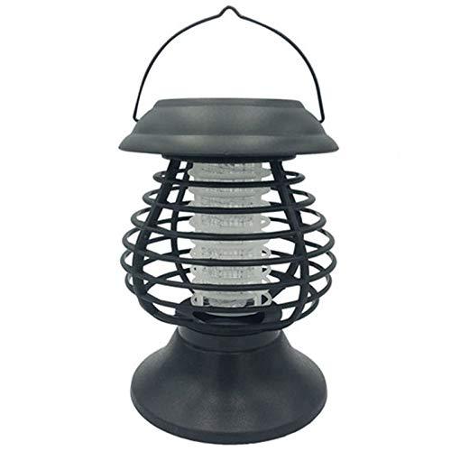 Lámpara solar antimosquitos, resistente al agua, mata insectos – IP65, tubo fluorescente, eficaz contra insectos voladores, para evitar picaduras de mosquitos, lámpara antimosquitos