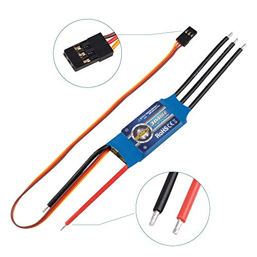 ZTW Beatles 30A ESC 2-4S Lipo 5V 2A BEC Brushless Eletronic Speed Controller for RC Airplane Quadcopter Multirotor Helicopter