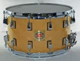 "SUPERDRUM 14""x8"" 12-Lug Snare Drum - Natural Maple"