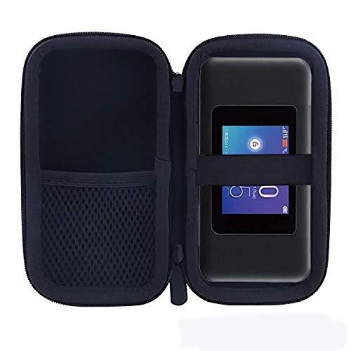 for UQ WX06 / WX05 Speed Wi-Fi NEXT クレードル 対応 モバイルルータ 専用保護 収納ケース -waiyu JP