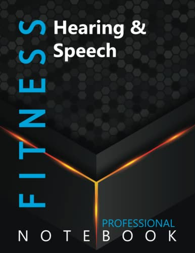 """Compare Textbook Prices for Fitness, Hearing & Speech Ruled Notebook, Professional Notebook, Writing Journal, Daily Notes, Large 8.5"""" x 11"""" size, 108 pages, Glossy cover  ISBN 9798750009688 by Pro Health  Cre8tive Press"""