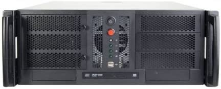 Chenbro RM41300-F No Power Supply 4U Open-bay Rackmount Server Chassis w/ 1x ODD Cage
