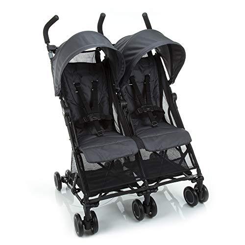 Carrinho de Bebê Gemeos Nano Two Safety 1st, Cinza