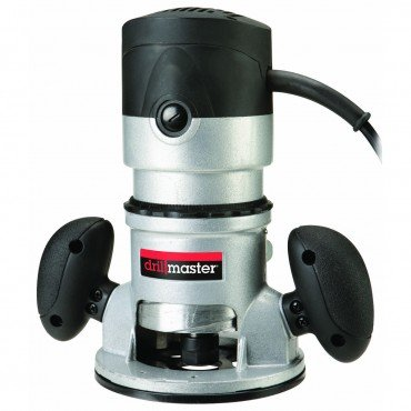 2 HP High Speed Fixed Base Router with Adjustable Depth Control, graduated in 64ths