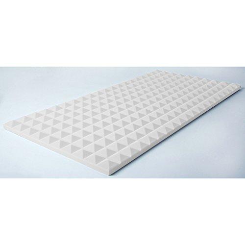 Pyramis Absorbeur 50x100x 3 cm Basotect, blanc
