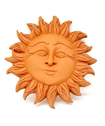sicilia bedda - Sole in Terracotta - con Gancio da Parete - Prodotto Artigianale (18)
