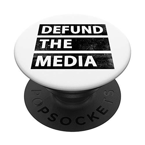 Noticias falsas políticas desembolsar los medios PopSockets PopGrip Intercambiable