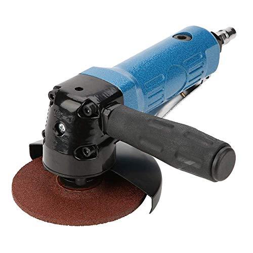 Yaeeee durable Angle Grinder, herramienta de pulido de pulido 4In Lijado Pad amoladora angular Pulidora neumática con 11000rpm 2 Llave Herramientas industriales