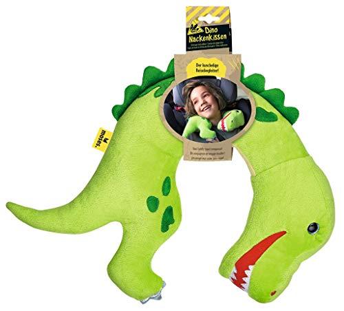 moses. Dino Nackenkissen Tyrannosaurus-Rex │Kuscheltier Nackenhörnchen für Kinder | Ideal für lange Reisen