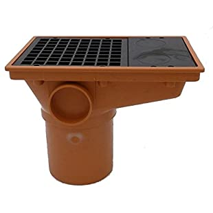 Underground Drainage 110mm rectangular Hopper And Grid Pipe Fittings
