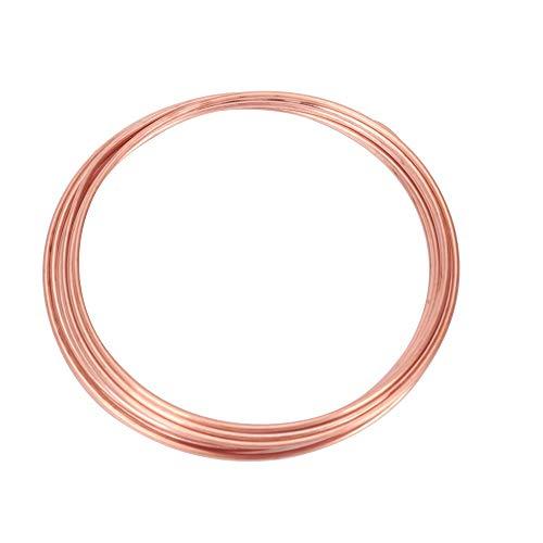 XHUENG Utile Fil de cuivre congélateur de Conditionnement d'air Capillaire de 2 mm * Longueur de 4 m à Haute Pression des pièces de Rechange air à Haute température de climatiseur