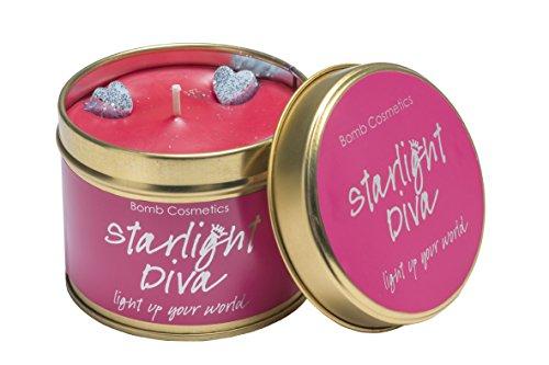 Preisvergleich Produktbild Bomb Cosmetics Starlight Diva Duftkerze in Dose.
