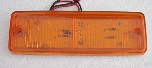 Bajato: Clignotant latéral LED ambré rectangulaire pour camions, remorques, tracteurs, 24 V - 12000203