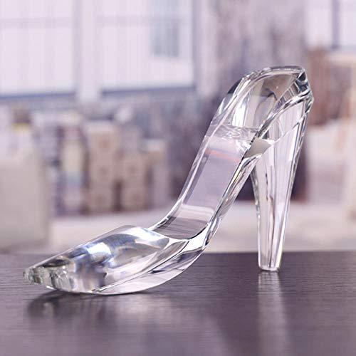 KOONNG Zapatos De Cristal De Tacón Alto Adornos Día De San Valentín...