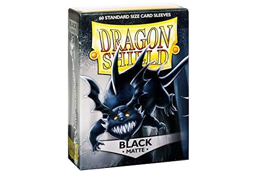Arcane Tinmen ApS ART11202 - Juego de Cartas de Dragon Shield Mate Schwarz (Talla única), Color Negro