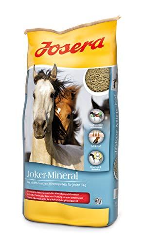 JOSERA Joker-Mineral (1 x 15 kg) | Premium Pferdefutter mit Vitaminen und Mineralstoffen | Mineralfutter für Pferde, Ponys, Fohlen usw.| 1er Pack