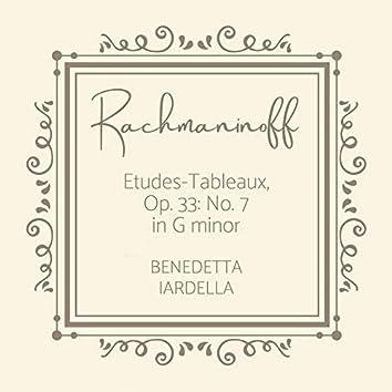 Etudes-Tableaux, Op. 33: No. 7 in G Minor, Moderato